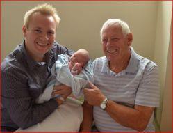 My Brother Tim  (lives in Canada) &  Son Jon & Hazel Maeve